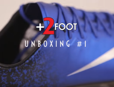 +2FOOT Unboxing #1 - PAck Nike CR7