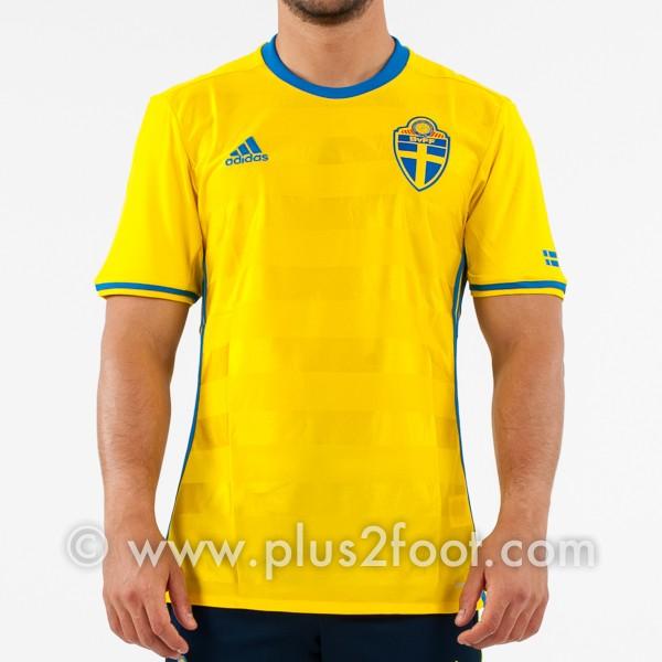 maillot-domicile-suède-euro-2016